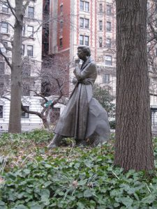 Eleanor Roosevelt statue New York City